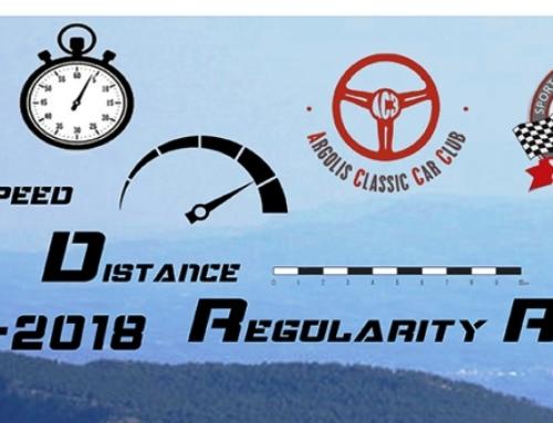 Αποτελέσματα TSD Regularity Rally